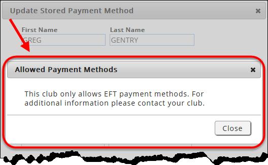 eft method of payment